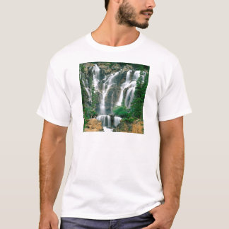Waterfall Tangle Jasper Park Canada T-Shirt