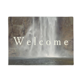 Waterfall Taughannock Falls Nature Doormat