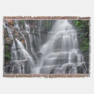 Waterfall Throw Blanket