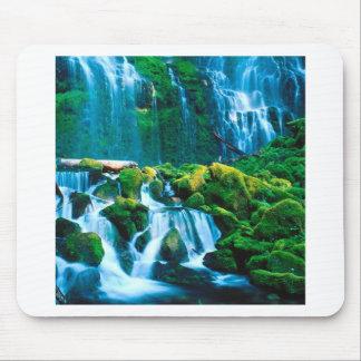 Waterfall Twins Proxy Willamette Mouse Pads
