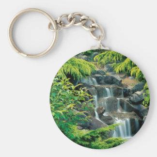 Waterfall Vancouver British Columbia Keychains