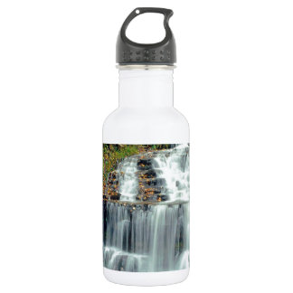 Waterfall Wagner Alger County Michigan 532 Ml Water Bottle