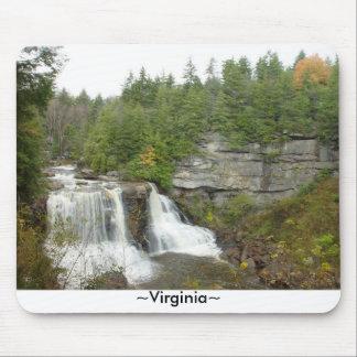 Waterfall West Virginia Mousepad