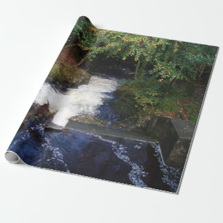Waterfall Wrapping Paper