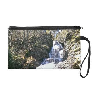 waterfall wristlet purses