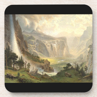 Waterfall Yosemite Panorama Wilderness Coaster