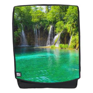 Waterfalls at Plitvice National Park in Croatia
