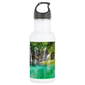 Waterfalls at Plitvice National Park in Croatia 532 Ml Water Bottle