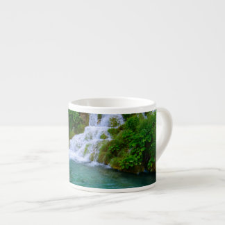 Waterfalls at Plitvice National Park in Croatia Espresso Cup