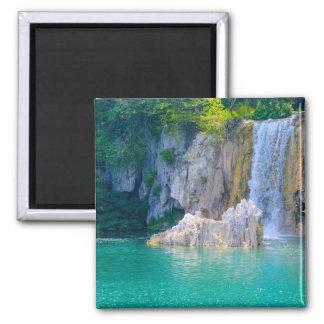 Waterfalls at Plitvice National Park in Croatia Magnet