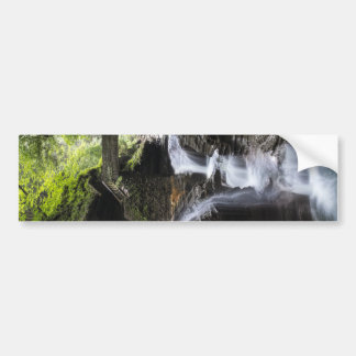 Waterfalls at Watkins Glen, NY Bumper Sticker