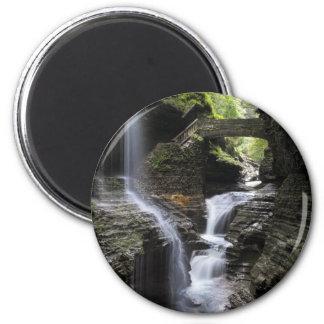 Waterfalls at Watkins Glen, NY Magnet