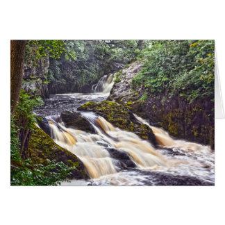 Waterfalls Card