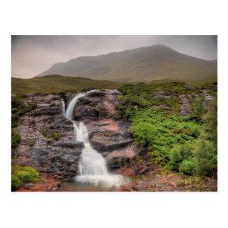 Waterfalls in Glencoe Postcard