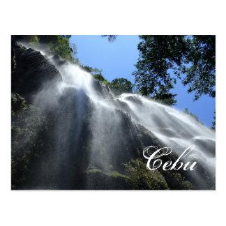 Waterfalls in Oslob Cebu Postcard