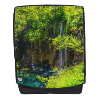 Waterfalls in Plitvice National Park in Croatia