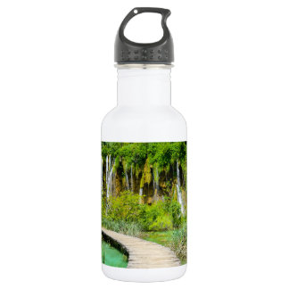 Waterfalls in Plitvice National Park in Croatia 532 Ml Water Bottle