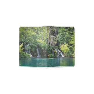 Waterfalls in Plitvice National Park in Croatia Passport Holder