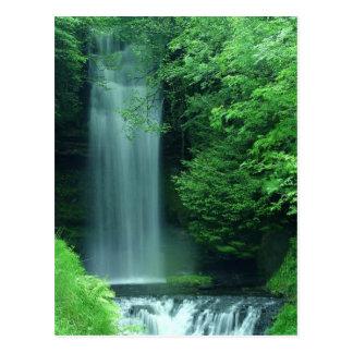 Waterfalls In Zion Postcard