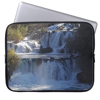Waterfalls laptop sleeve