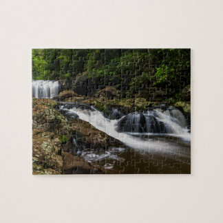 Waterfalls Lip Falls Gold Coast Australia Jigsaw Puzzle