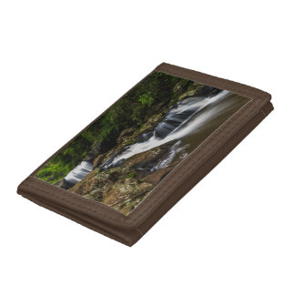 Waterfalls Lip Falls Gold Coast Australia Trifold Wallet