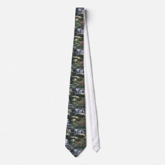 Waterfalls Nature Photo Tie