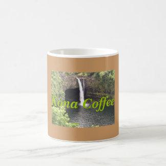 Waterfalls of Kona, Kona Coffee Coffee Mug