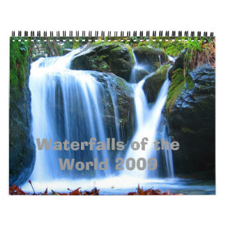 Waterfalls of the World 2009 Calendars