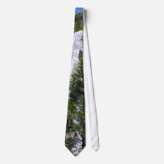 Waterfalls Trees Tie
