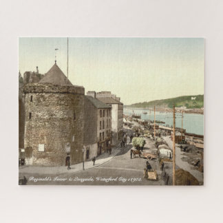 Waterford City c1905, Reginalds Tower & Quayside Jigsaw Puzzle