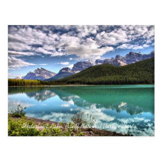Waterfowl Lake Banff National Park Postcard