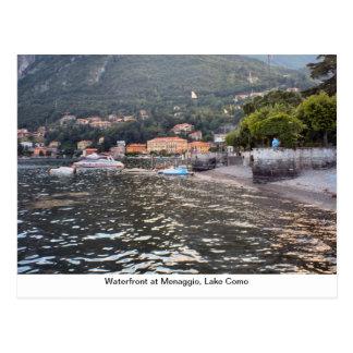 Waterfront at Menaggio Lake Como Postcards
