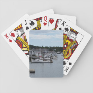 """""""Waterfront"""" Boothbay Harbour Classic Playing Poker Deck"""