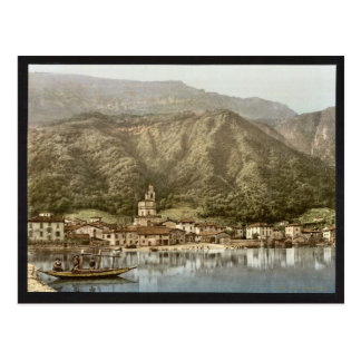 Waterfront, Campione, Italy classic Photochrom Post Cards