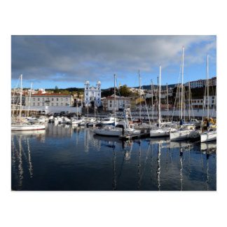 Waterfront of Angra do Heroismo: the Azores Postcard