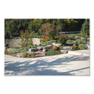 Waterfront park, Rockford, Michigan Art Photo
