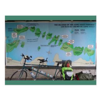 Waterfront Trail - Tandem Bike Post Cards