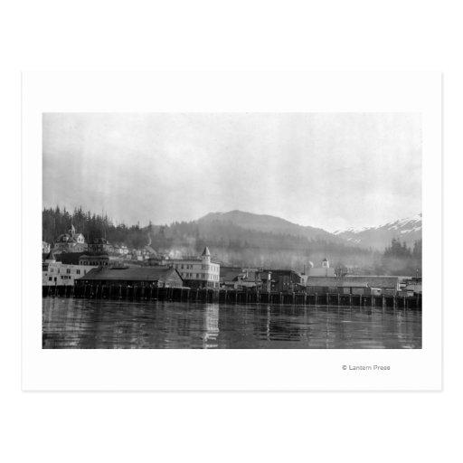 Waterfront View of Ketchikan, Alaska Postcard
