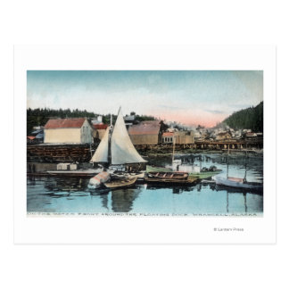 Waterfront View of the Floating Dock Post Cards