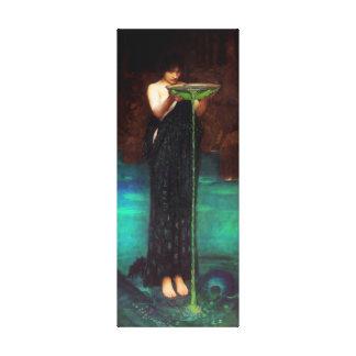 Waterhouse Circe Invidiosa Canvas Poster Stretched Canvas Prints