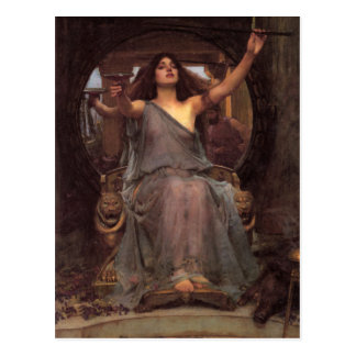 Waterhouse Circe Postcard