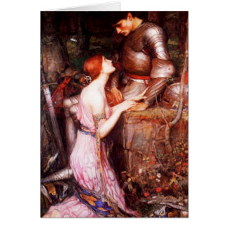Waterhouse Lamia and the Soldier Greeting Card