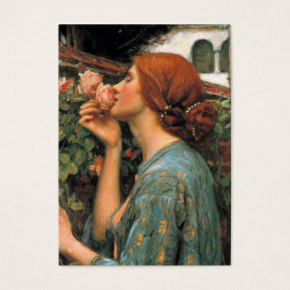 Waterhouse: Smell of Roses Business Card