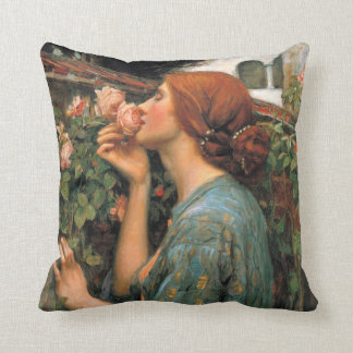 Waterhouse: Smell of Roses Cushion