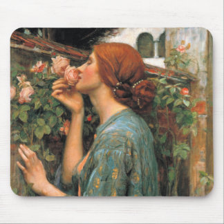 Waterhouse: Smell of Roses Mouse Pad