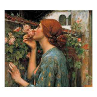 Waterhouse: Smell of Roses Poster