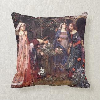 Waterhouse: The Enchanted Garden Cushion