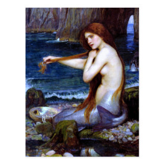 Waterhouse: The Mermaid Postcard