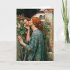 Waterhouse The Soul of the Rose Greeting Card